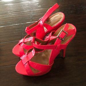 Hot Pink Stiletto Heels